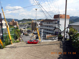 長崎市葉山1丁目の観測地点