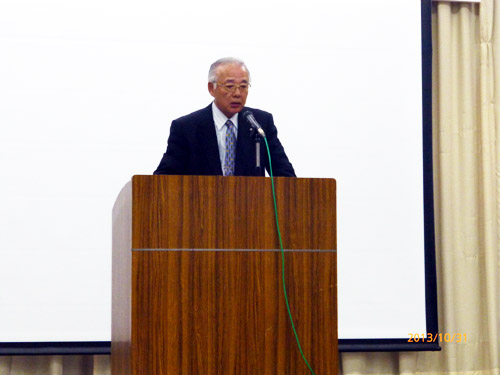 岩手県土地家屋調査士会沿岸支部長金哲朗先生