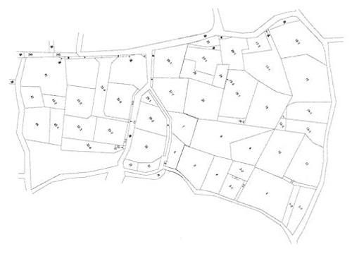 多くは明治期に作成された不動産登記法第14条第4項の地図に準ずる図面